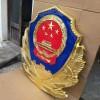 贴金警徽销售-1米公安门头警徽制作华沃龙